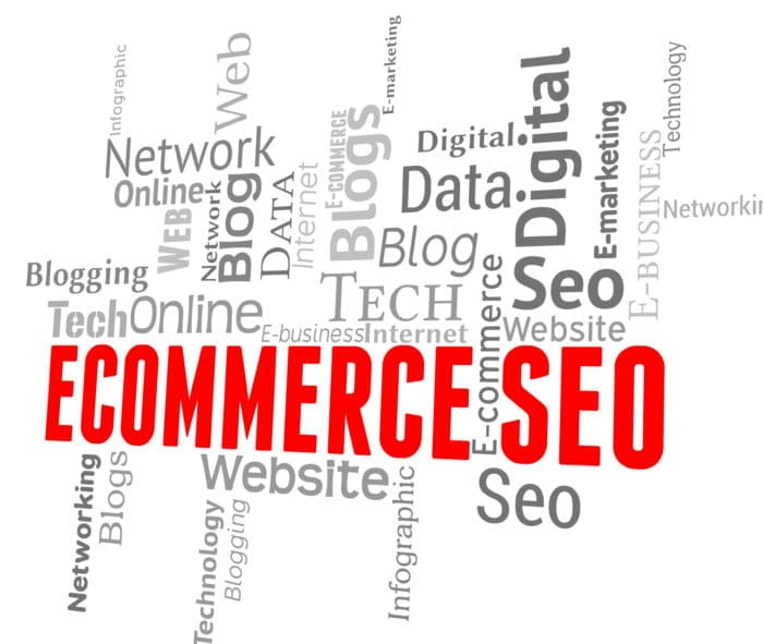 Concept Of E-commerce Store Seo