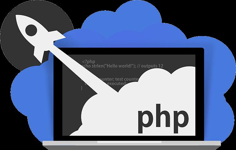 php web application development company