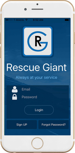 Rescue Giant Mobile App