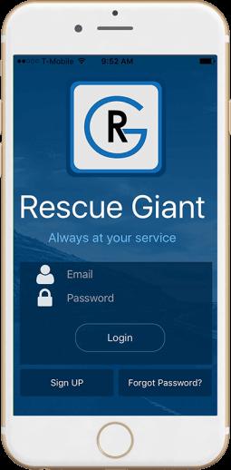 Rescue Giant Mobile App