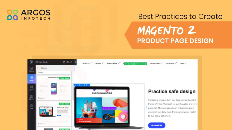 Best Practices To Create Magento 2 Product Page Design
