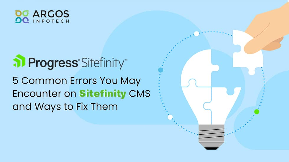 5 Common Errors Sitefinity CMS